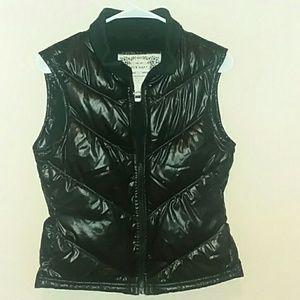 %100 Polyester Black Bubble Vest